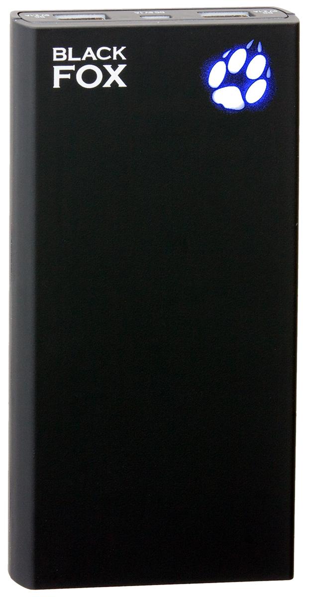 Black Fox BMP150D внешний аккумулятор (15 000 мАч)4627102591012Внешний аккумулятор Black Fox BMP 150 D (Цвет - чёрный), Li-Ion, емкость 15000 мАч, световая индикация заряда в виде лапы