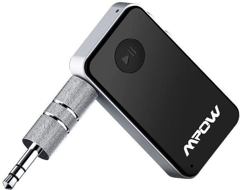 Mpow MBR1 портативная акустическая системаMBR1Беспроводной мини-приемник Mpow Steamboat Bluetooth 4.0 подключается к аудиоустройствам любого типа без Bluetooth и превращает их в полноценные Bluetooth-устройства, которые могут воспроизводить музыку беспроводным способом.Bluetooth-приемник Mpow Steamboat может использоваться с динамиками, наушниками, домашними аудиосистемами, стереосистемами и портативным аудиоустройствами без Bluetooth.Высокое качество звукаБлагодаря усовершенствованному чипу Bluetooth 4.0 мини-приемник обеспечивает высокое качество звука при воспроизведении музыки и ответе на звонки. Длительное время работы от одной зарядкиВстроенный аккумулятор обеспечивает до 10 часов работы в режиме воспроизведение музыки и разговора. 120 часов в режиме ожидания. Полная зарядка аккумулятора занимает всего 1,5 часа. Возможность подключения нескольких устройствК Bluetooth-приемнику Mpow Steamboat Mini можно подключать два Bluetooth-устройства одновременно. Диапазон Bluetooth достигает до 10 метров на открытой местности без препятствий. Широкая совместимостьПриемник совместим с большинством устройств с поддержкой Bluetooth - со смартфонами, MP3 плеерами, планшетами и т.д. Идеально подходит также для использования с домашними или автомобильными аудиосистемами. Простое управлениеИспользуя элементы управления приемника Mpow Steamboat Mini вы можете управлять воспроизведением музыки и отвечать на телефонные звонки.Вес: 36 граммРазмеры: 114 X 60 X 50 ммВремя работы - до 10 часов работы от одной зарядки в режиме воспроизведение музыки и разговора, 120 часов в режиме ожидания. Полная зарядка аккумулятора 1,5 часа.