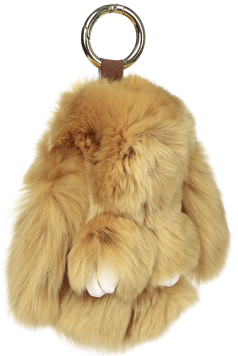 Брелок женский Mitya Veselkov, цвет: коричневый. BRELOK-KROLIK-BROWNБрелок для ключейОригинальный брелок для ключей Mitya Veselkov изготовлен из искусственного меха в виде кролика. Брелок предназначен для ношения на сумке, рюкзаке, клатче, кошельке, ключах. Брелок может украсить автомобиль или просто радовать в качестве игрушки. Он такой мягкий и приятный на ощупь, что его не хочется выпускать из рук. Этот брелок станет отличным подарком, ни одна девушка не останется равнодушной к этому пушистому кролику.