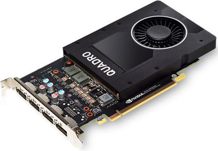 PNY NVIDIA Quadro P2000 5GB видеокартаVCQP2000-PBПроф видеокарта 5GbPNY nVidia Quadro P2000
