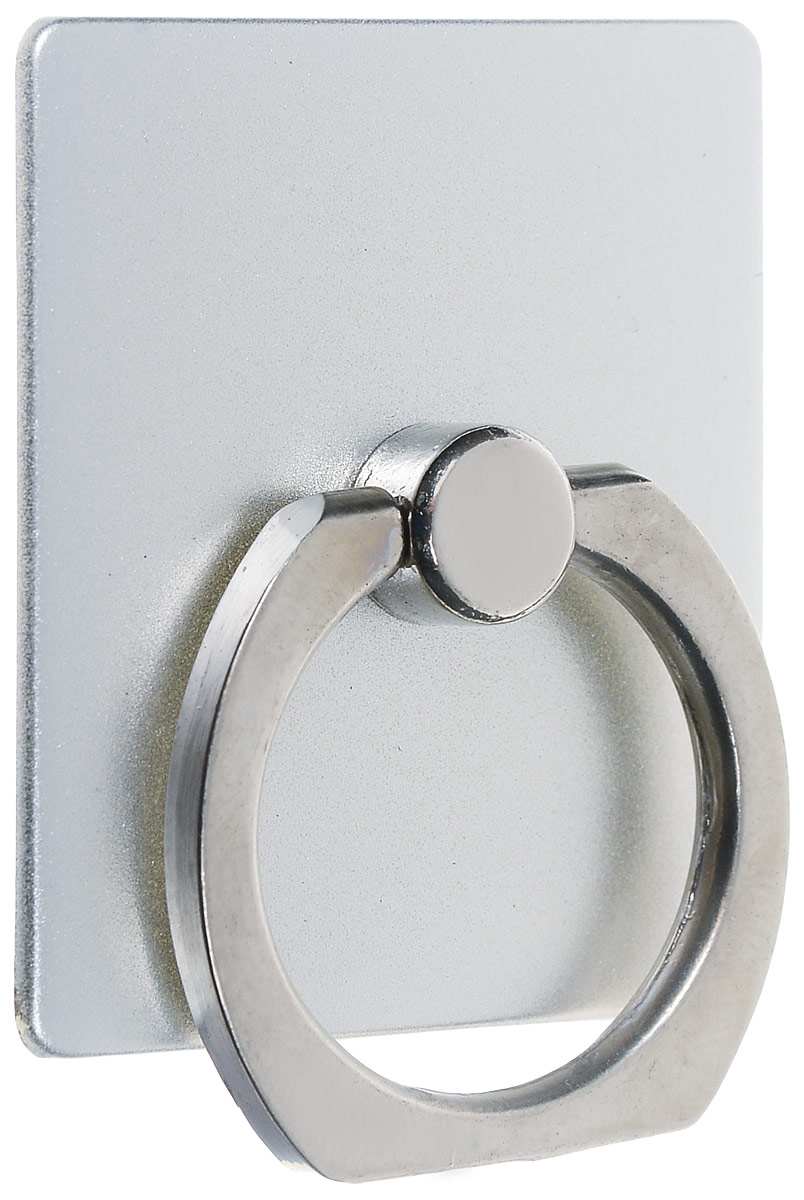 Bradex SU 0057, Silver кольцо-держатель для телефона и планшетаSU 0057Кольцо-держатель и подставка Bradex SU 0057 позволяют удобно закрепить смартфон или планшет в руке, на стене, на столе или в автомобиле. Кольцо быстро крепится, легко снимается, не оставляет следов на корпусе, вращается на 360°. Если вес гаджета превышает 150 грамм, необходимо пользоваться кольцом и подставкой с осторожностью.Материал: поликарбонат, цинковый сплав, клейкая поверхность.