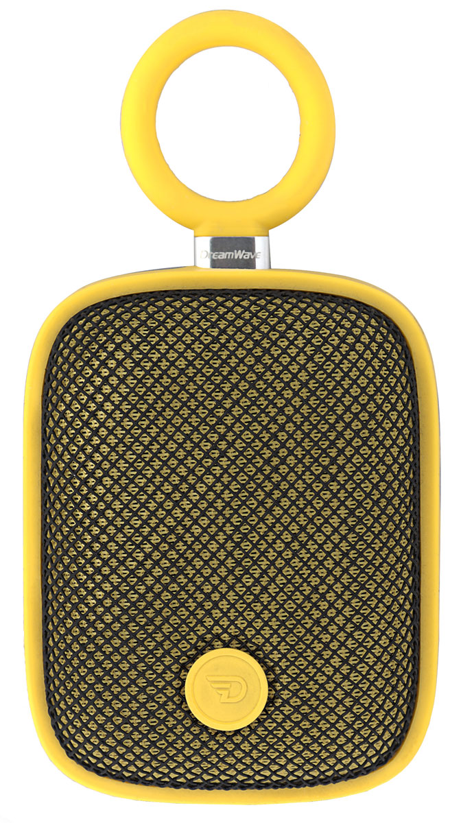 DreamWave Bubble Pod, Yellow портативная Bluetooth-колонка15119094DreamWave Bubble Pod – это очень красочная портативная Bluetooth-колонка. Она обладает наилучшим качеством звучания среди устройств своего класса и может отправиться с вами в любое путешествие. Это сверхлёгкая, простая и удобная колонка с защитой от воды/песка/пыли уровня IPX5, обладающая выходной мощностью в 5 Вт. Модель оборудована встроенным аккумулятором ёмкостью 1800 мАч, благодаря чему она способна воспроизводить музыку на максимальной громкости в течение 5 часов. Встроенный драйвер и процессор, создающий эффект звучания на 360°, вместе создают идеальный тандем громкости и басов. Благодаря функции гарнитуры вы сможете отвечать на входящие вызовы, на время разговора музыка будет останавливаться, а по окончании разговора снова вернется к воспроизведению. Bubble Pod имеет простой и удобный дизайн, позволяющий крепить колонку при помощи D-образного кольца, так что вы сможете брать её с собой куда угодно и использовать данное крепление практически с любым предметом одежды, детской коляской, рюкзаком или же просто положить её в карман. -Компактный спикер мощностью 5 Вт (лучший в своём классе)- Звук Hi-Fi, защита от помех- Защита от воды/песка/пыли уровня IPX5- Bluetooth CSR 4.0 + EDR, A2DP AVRCP, APTX- Аккумулятор 1800 мАч- Работает до 12 часов подряд (5 часов на максимальной громкости)- Звонки хэндз-фри, бесконтактная связь по NFC- Аудиопроцессор, создающий всенаправленный звук (360°)