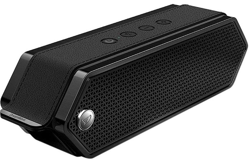 DreamWave Harmony II портативная Bluetooth-колонка15119100DreamWave Harmony II – это элегантная колонка премиум-класса, которая способна передавать музыку так, как это задумывал исполнитель. Модель обладает выходной мощностью 16 Вт, оборудована встроенным аккумулятором ёмкостью 4500 мАч, что позволяет ей играть громче и дольше в сравнении с конкурентами. Благодаря сочетанию передовых технологий и тончайших настроек звука, Harmony II в состоянии передать музыку во всей полноте, сохраняя её первозданную глубину и ясность. Благодаря функции гарнитуры, вы сможете отвечать на входящие вызовы, на время разговора музыка будет останавливаться, а по окончании разговора снова вернётся к воспроизведению. В комплектации с колонкой поставляется мягкий бархатный чехол-сумка для удобной транспортировки, что позволяет брать её везде с собой и наслаждаться музыкой дома, в офисе, в машине или во время тренировок. Harmony II украшена декоративной полосой, стилизованной под кожу, сетка динамиков выполнена в стиле медовых сот, а звук исходит с обеих сторон колонки. Премиальная Hi-Fi-колонка с мощностью 16 ВтBluetooth CSR 4.0 + EDR, A2DP AVRCP, APTXАккумулятор 4500 мАчРаботает до 20 часов подряд (6 часов на максимальной громкости)Звонки хэндз-фри, бесконтактная связь по NFCЗвук Hi-Fi, защита от помехСумка из мягкого вельвета в комплекте