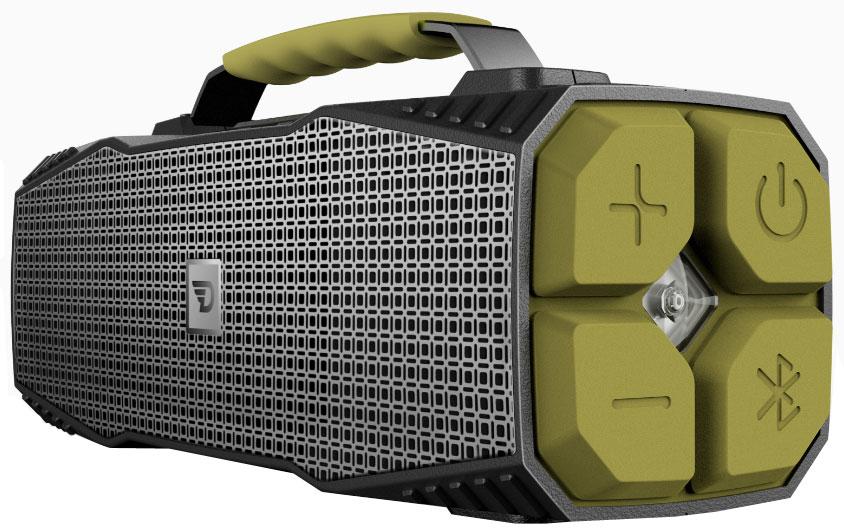 DreamWave Elemental портативная Bluetooth-колонка15119102DreamWave Elemental – это высококлассная Bluetooth-аудиосистема с выходной мощностью 30 Вт и ультраярким светодиодным фонарем мощностью 110 люменов, который может освещать вам путь на расстоянии до 400 метров, а также способен подавать сигнал SOS. Устраивайте вечеринки на природе с вашими друзьями и наслаждайтесь музыкой весь день напролёт благодаря встроенному аккумулятору ёмкостью 12 тысяч мАч. Сочетание передовых технологий и тончайших настроек звука позволяет Elemental передавать музыку во всей полноте, сохраняя её первозданную глубину и ясность – так, как это задумывал исполнитель. Прочная конструкция, защита от воды/песка/пыли/снега уровня IPX5, компактный дизайн и надёжная алюминиевая ручка для переноски позволят вам брать Elemental с собой, куда бы вы ни отправились. Более того, устройство поможет и в экстренных ситуациях. Премиальная Hi-Fi-колонка с мощностью 30 ВтСветодиодный фонарь мощностью 110 люменов (режимы освещения и SOS)Защита от воды/песка/пыли уровня IPX5Bluetooth CSR 4.0 + EDR, A2DP AVRCP, APTXАккумулятор 12000 мАч (Power Bank)Работает до 16 часов подряд (7 часов на максимальной громкости)Звонки хэндз-фри, бесконтактная связь по NFCUSB-порт 5В/1А для подзарядки гаджетовЗвук Hi-Fi, защита от помех