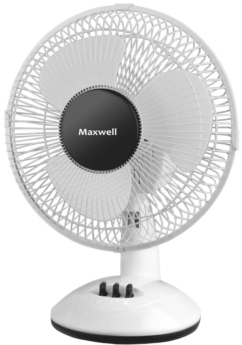 Maxwell MW-3547(W) вентилятор настольныйMW-3547(W)Вентилятор настольный Maxwell MW-3547(W) обладает очень скромными размерами, поэтому не причиняет неудобств в процессе эксплуатации. Работоспособности этого прибора достаточно для того, чтобы обеспечить качественный обдув одного-двух человек.Крайне важным преимуществом модели является мобильность. К тому же, настольный вентилятор Maxwell MW-3547(W) дает возможность экономить электроэнергию благодаря низкому потреблению. Установив его на своем рабочем столе, вы моментально почувствуете бодрящую свежесть, которой так не хватает в жаркие летние деньки.
