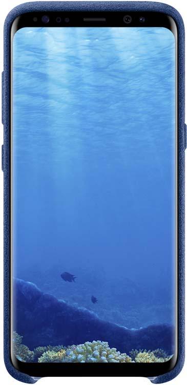Samsung Alcantara Cover чехол для Galaxy S8, BlueEF-XG950ALEGRUЛицевая поверхность данного чехла выполнена изАлькантары— ультрамикрофибры высочайшего качества, отличающейся мягкостью, богатой цветовой гаммой, великолепной износостойкостью идолговечностью.