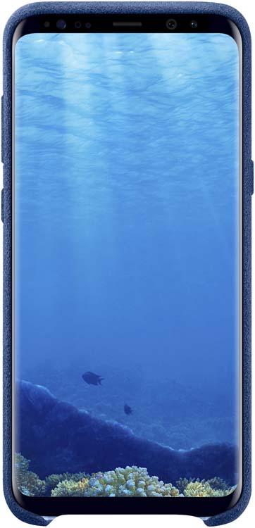 Samsung Alcantara Cover чехол для Galaxy S8+, BlueEF-XG955ALEGRUЛицевая поверхность данного чехла выполнена изАлькантары— ультрамикрофибры высочайшего качества, отличающейся мягкостью, богатой цветовой гаммой, великолепной износостойкостью идолговечностью.