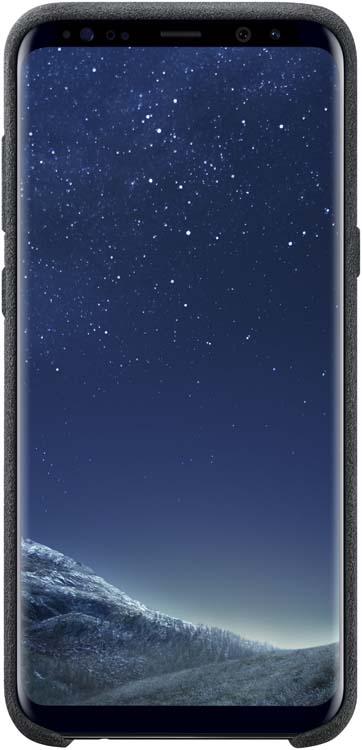 Samsung Alcantara Cover чехол для Galaxy S8+, Dark GrayEF-XG955ASEGRUЛицевая поверхность данного чехла выполнена изАлькантары— ультрамикрофибры высочайшего качества, отличающейся мягкостью, богатой цветовой гаммой, великолепной износостойкостью идолговечностью.