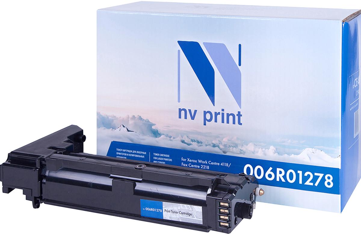 NV Print 006R01278, Black тонер-картридж для Xerox WC 4118NV-006R01278Совместимый лазерный картридж NV Print 006R01278 для печатающих устройств Xerox WC 4118 - это альтернатива приобретению оригинальных расходных материалов. При этом качество печати остается высоким. Картридж обеспечивает повышенную чёткость чёрного текста и плавность переходов оттенков серого цвета и полутонов, позволяет отображать мельчайшие детали изображения.Лазерные принтеры, копировальные аппараты и МФУ являются более выгодными в печати, чем струйные устройства, так как лазерных картриджей хватает на значительно большее количество отпечатков, чем обычных. Для печати в данном случае используются не чернила, а тонер.