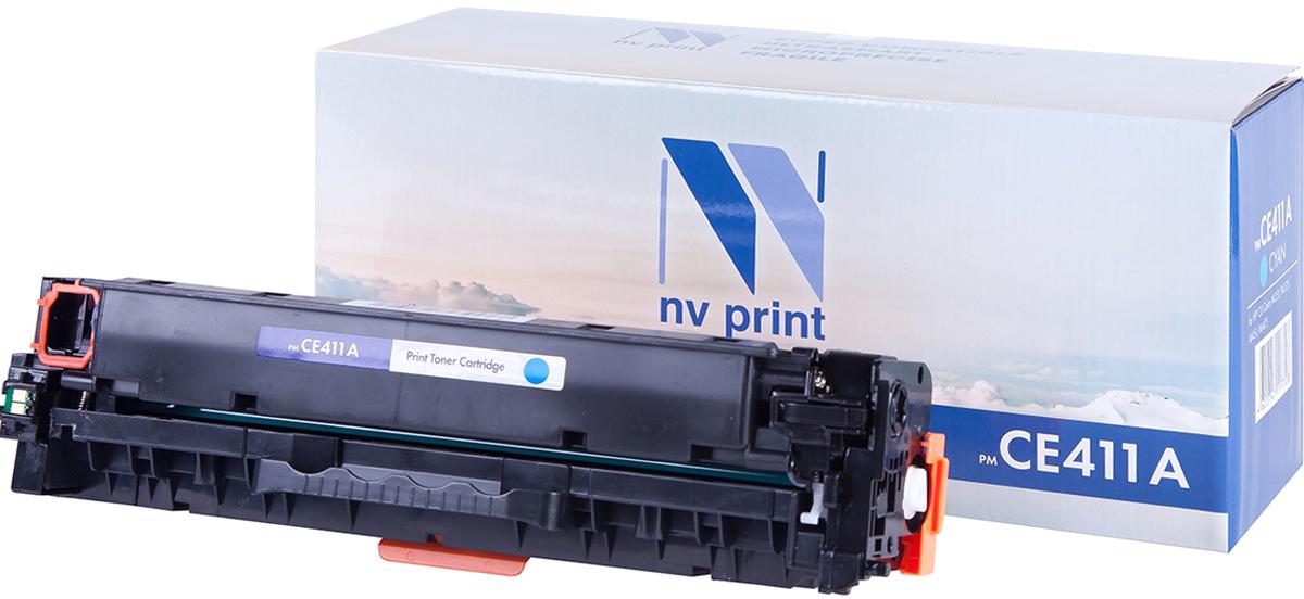 NV Print CE411A, Cyan тонер-картридж для HP CLJ M351/M451/MFP M375/MFP M475CE411AСовместимый лазерный картридж NV Print для печатающих устройств HP - это альтернатива приобретению оригинальных расходных материалов. При этом качество печати остается высоким. Картридж обеспечивает повышенную чёткость и плавность переходов оттенков цвета и полутонов, позволяет отображать мельчайшие детали изображения.Лазерные принтеры, копировальные аппараты и МФУ являются более выгодными в печати, чем струйные устройства, так как лазерных картриджей хватает на значительно большее количество отпечатков, чем обычных. Для печати в данном случае используются не чернила, а тонер.