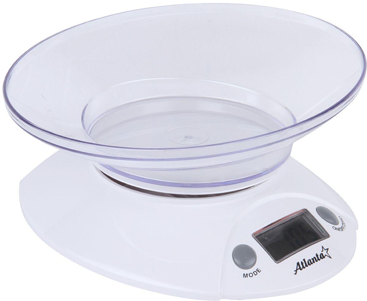Atlanta ATH-803, White весы кухонные