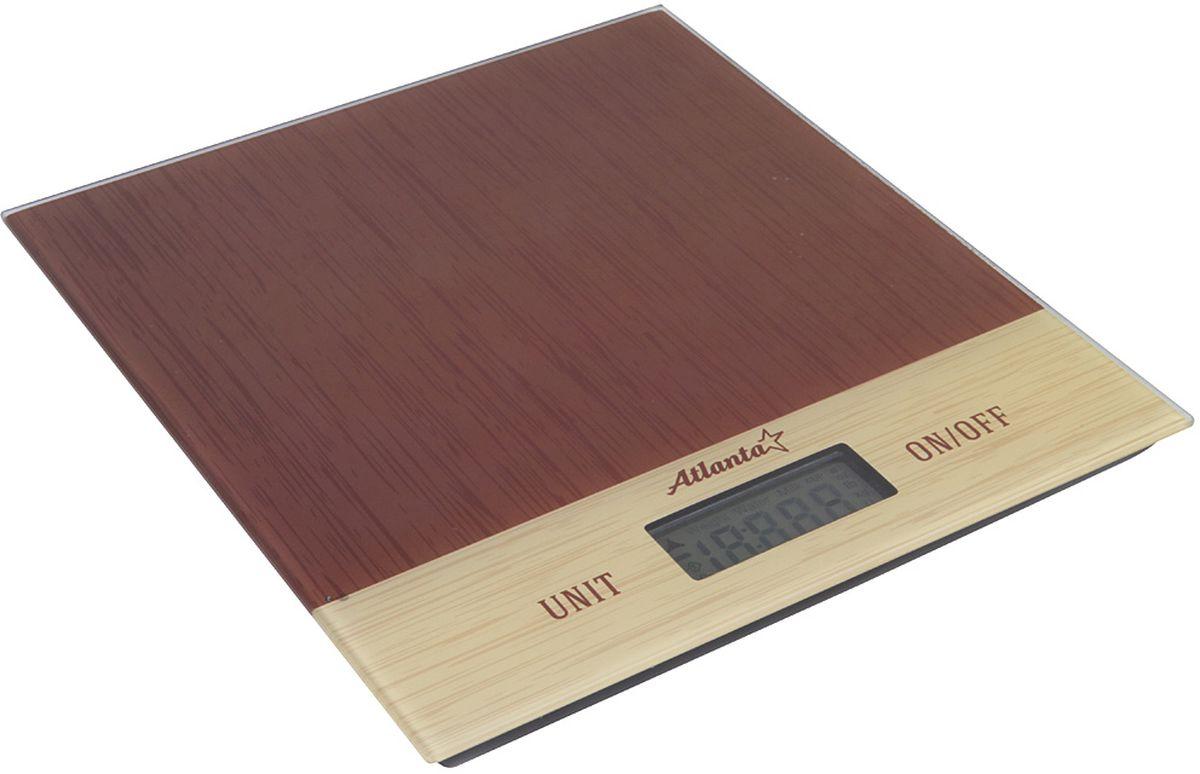 Atlanta ATH-6207, Brown весы кухонные