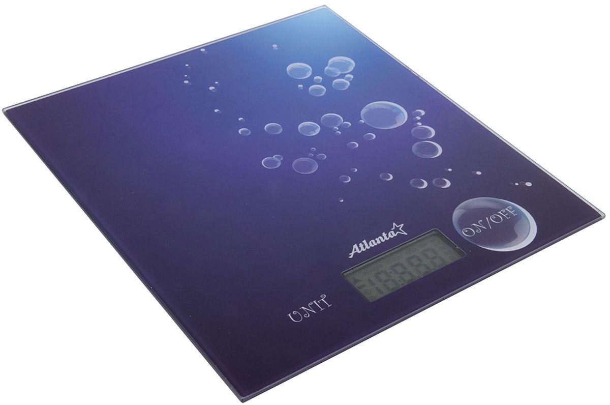 Atlanta ATH-6207, Blue весы кухонные