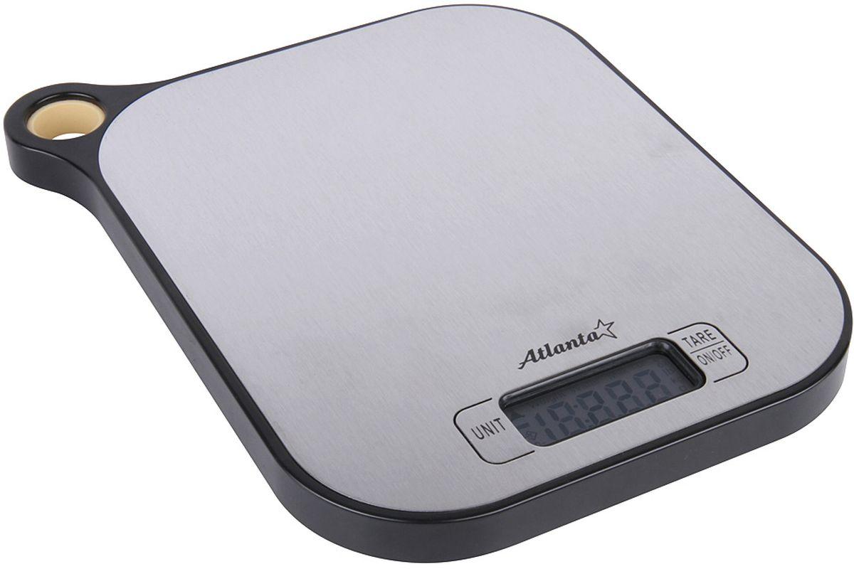 Atlanta ATH-6208, Black весы кухонныеATH-6208 blackКухонные электронные весы Atlanta ATH-6208 - незаменимые помощники современной хозяйки. Они помогут точно взвесить любые продукты и ингредиенты. Кроме того, позволят людям, соблюдающим диету, контролировать количество съедаемой пищи и размеры порций. Предназначены для взвешивания продуктов с точностью измерения 1 грамм.Размер дисплея: 4,58 см х 1,7 смФункция обнуления веса