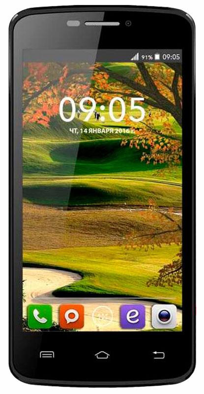 BQ 4560 Golf, Black46610253BQ 4560 Golf - красивый и современный смартфон, удачный баланс между стильным дизайном и качественной начинкой.Дизайнеры BQ Mobile сделали выбор в пользу красоты и разнообразия, изящный корпус с приятным на ощупь покрытием soft touch представлен в черном, золотом, розовом, белом и цвете морской волны.Благодаря правильной конструкции и габаритам, BQ Golfкомфортно помещается в руке и позволяет с легкостью пользоваться всеми элементами на экране. Тонкие рамки вокруг дисплея и продуманное расположение элементов делает работу с контентом легкой и удобной.Архитектура процессора обеспечивает уверенную работу всего механизма и моментальную обработку поступающих задач. Производительности четырехъядерного процессора MediaTek МТ6580 хватает, чтобы справиться с ресурсоемкими приложениями, играми и плавным воспроизведениемвидеороликов.Смартфон сертифицирован EAC и имеет русифицированный интерфейс меню и Руководство пользователя