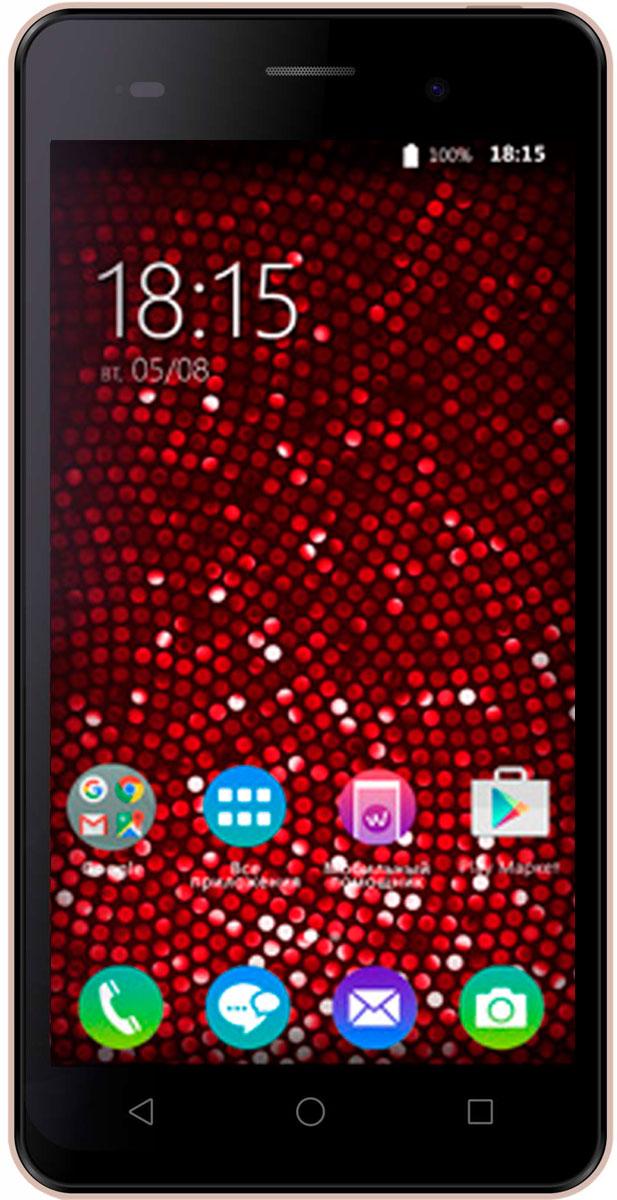 BQ 5020 Strike SE, Rose Gold Brushed46613410Смартфон BQ Strike SE позволит вам работать с любыми необходимыми приложениями, став надежным помощником и незаменимой развлекательной платформой. Тандем четырехъядерного процессора MediaTek MT6580 и проверенной операционной системы Android 6.0 обеспечивает стабильную работу устройства. Любимые игры и видеоролики станут еще детальнее и ярче. Наслаждайтесь отличной цветопередачей на пятидюймовом IPS-экране с HD разрешением 1280х720. Модель поддерживает одновременную работу двух SIM-карт, помогая экономить расходы на связь, а возможность добавить к 16 ГБ встроенной памяти еще 64 с помощью microSD позволят сохранить на телефоне все необходимое. Сохраните память обо всех важных событиях, используя оптику BQ Strike SЕ. Основная камера с разрешением 13 Мп позволит создавать ролики и снимки хорошего качества, а фронтальная подойдет для видеоконференций и селфи.Смартфон сертифицирован EAC и имеет русифицированный интерфейс меню и Руководство пользователя