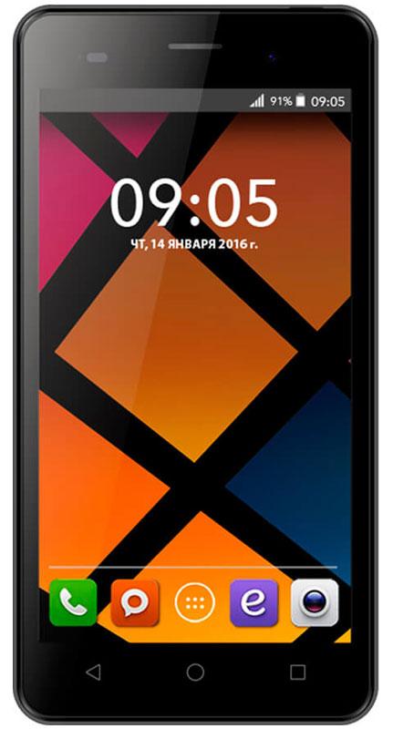 BQ 5020 Strike, Dark Gray46610230Смартфон BQ Strike - это передовые технологии, заключенные в стильном и прочном металлическом корпусе. Полный набор всех необходимых современному пользователю функций обеспечивает максимальный комфорт использования.Качественный 5-дюймовый IPS-дисплей c разрешением 1280х720 удивляет насыщенным, ярким изображением и безошибочной передачей цвета.Мощный 4-ядерный процессор MediaTek MT6580 с частотой 1.3 ГГц обеспечивает стабильно быструю скорость работы при использовании новейших приложений и игр.Основная камера с разрешением матрицы - 13 Мпикс позволяет делать потрясающие снимки в высоком качестве. Фронтальная камера с разрешением 5 Мпикс отлично подходит не только для видеозвонков, но и для селфи.Наличие слотов для двух сим-карт позволяет экономить время и деньги, например, в путешествиях или при использовании разных провайдеров для звонков и интернет серфинга.Смартфон работает под управлением современной операционной системы Android 6.0 Marshmallow.Минималистичный металлический корпус приятен на ощупь и отлично лежит в руке, он более устойчив к царапинам, а современные технологии позволили сделать его легким и максимально прочным.Смартфон сертифицирован EAC и имеет русифицированный интерфейс меню и Руководство пользователя
