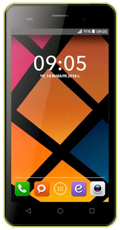 BQ 5020 Strike, Yellow46610260Смартфон BQ Strike - это передовые технологии, заключенные в стильном и прочном металлическом корпусе. Полный набор всех необходимых современному пользователю функций обеспечивает максимальный комфорт использования.Качественный 5-дюймовый IPS-дисплей c разрешением 1280х720 удивляет насыщенным, ярким изображением и безошибочной передачей цвета.Мощный 4-ядерный процессор MediaTek MT6580 с частотой 1.3 ГГц обеспечивает стабильно быструю скорость работы при использовании новейших приложений и игр.Основная камера с разрешением матрицы - 13 Мпикс позволяет делать потрясающие снимки в высоком качестве. Фронтальная камера с разрешением 5 Мпикс отлично подходит не только для видеозвонков, но и для селфи.Наличие слотов для двух сим-карт позволяет экономить время и деньги, например, в путешествиях или при использовании разных провайдеров для звонков и интернет серфинга.Смартфон работает под управлением современной операционной системы Android 6.0 Marshmallow.Минималистичный металлический корпус приятен на ощупь и отлично лежит в руке, он более устойчив к царапинам, а современные технологии позволили сделать его легким и максимально прочным.Смартфон сертифицирован EAC и имеет русифицированный интерфейс меню и Руководство пользователя