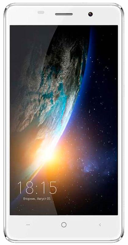 BQ 5022 Bond, White46612013Смартфон BQ 5022 Bond - это телефон, который можно не бояться уронить. Аппарат с 5-дюймовым IPS экраном оснащен защитным стеклом повышенной прочности, сделанномупо технологии Military Bullet Proof. Благодаря встроенному сканеру отпечатков пальцев разблокировать экран BQ 5022 Bond можно одним прикосновением, при этом телефон остается надежно защищенным от несанкционированного проникновения. Батарея емкостью 2300 мАч позволит вам оставаться на связи в течении длительного времени без мыслей о подзарядке. Дисплей смартфона с HD разрешением 720х1280 воспроизводит фото и видеофайлы в формате высокой четкости, удивляя яркостью и цветопередачей изображения.Смартфон сертифицирован EAC и имеет русифицированный интерфейс меню и Руководство пользователя