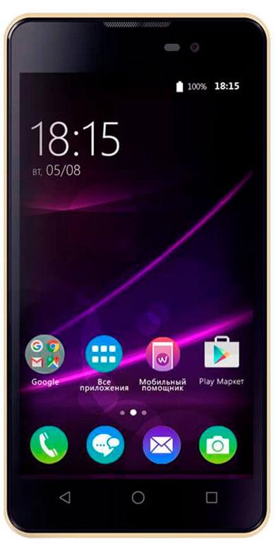 BQ 5065 Choice, Gold46611281BQ 5065 Choice - отличный бюджетный смартфон для повседневного использования не только ребенком, но и нетребовательным взрослым.Фактурное покрытие смартфона BQ Choice стилизованно под натуральную кожу. Крепкий, добротно выполненный корпус имеет толщину всего 9 мм. Основу технической начинки составляют четырехъядерный процессор MediaTek MTK6580, 1 ГБ оперативной памяти и 8 ГБ встроенной памяти. Оснащен 5-дюймовым IPS экраном с разрешением 854480 точек.Кроме того, смартфон имеет основную камеру 8 Мпикс со светодиодной вспышкой и фронтальную камеру 2 Мпикс. Смартфон сертифицирован EAC и имеет русифицированный интерфейс меню и Руководство пользователя