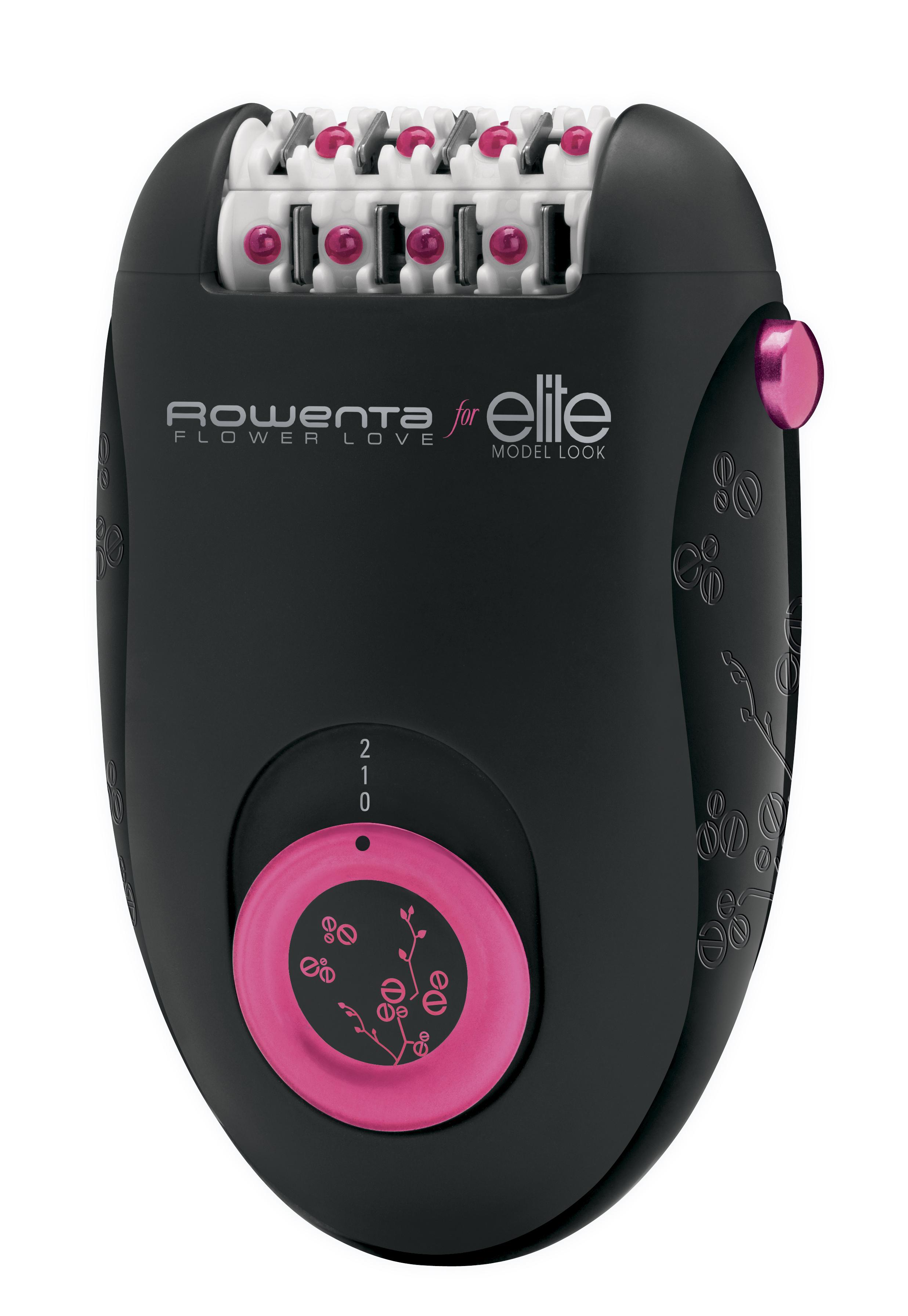 Rowenta EP2832F0, Black Pink эпиляторEP2832Эпилятор Rowenta EP2832F0 - позволит просто и эффективно избавиться от нежелательных волосков на теле и подарит вам идеально гладкую кожу. Модель имеет 24 пинцета, 2 режима скорости и две насадки. Специальные массажные шарики обеспечивают систему обезболивания. Удобная и компактная модель работает от сети 220В.