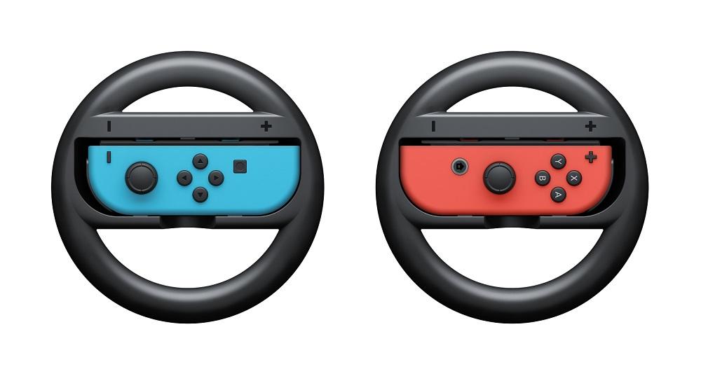 Nintendo Switch Joy-Con Wheel набор игровых рулей, 2 штACSWT6Прикрепите Joy-Con к этому контроллеру и почувствуйте себя за рулем автомобиля. Это отличный способ управления в гоночных играх. К контроллеру Nintendo Switch Joy-Con Wheel можно прикрепить как правый, так и левый Joy-Con.Примечание: оригинальный контроллер Joy-Con в комплект не входит.