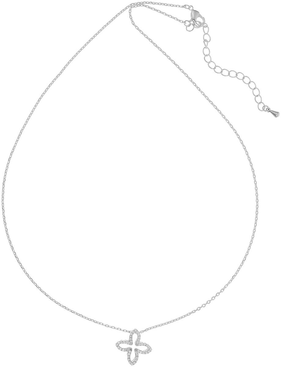 Колье Bradex Крестик, цвет: серебряный. AS 0085Бусы-ошейникЖенственный и нежный кулон Крестик повторяет форму чудодейственного листочка, и, несомненно, привлекает удачу. Да и как может быть иначе - разве может счастье проскользнуть мимо элегантной леди с таким выразительным аксессуаром?Роскошная инкрустация австрийскими кристаллами делает украшение еще более нарядным, а ваш образ - ярким и сияющим.Родиевое покрытие придает аксессуару сногсшибательный блеск и стойкость к окислению в процессе носки.Едва заметная цепочка классического плетения с серебряным покрытием придает образу дополнительную утонченность.Кулон Крестик - оригинальность и свежесть, которые всегда к лицу!
