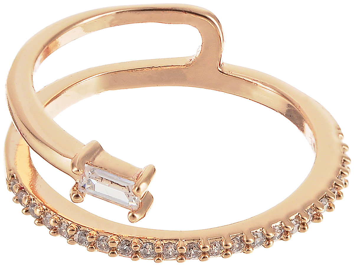 Кольцо Bradex Змея, цвет: золотой. AS 0105Коктейльное кольцоКольцо Bradex Змея выполнено из бижутерного сплава. Легкий, но прочный материал с золотым напылением обеспечивает комфорт в носке.Кольцо инкрустировано крошечными кристаллами циркона, а крупный камень в центре имитирует змеиную голову.Побалуйте себя чем-то новым и заявите о своей индивидуальности с кольцом Змея!
