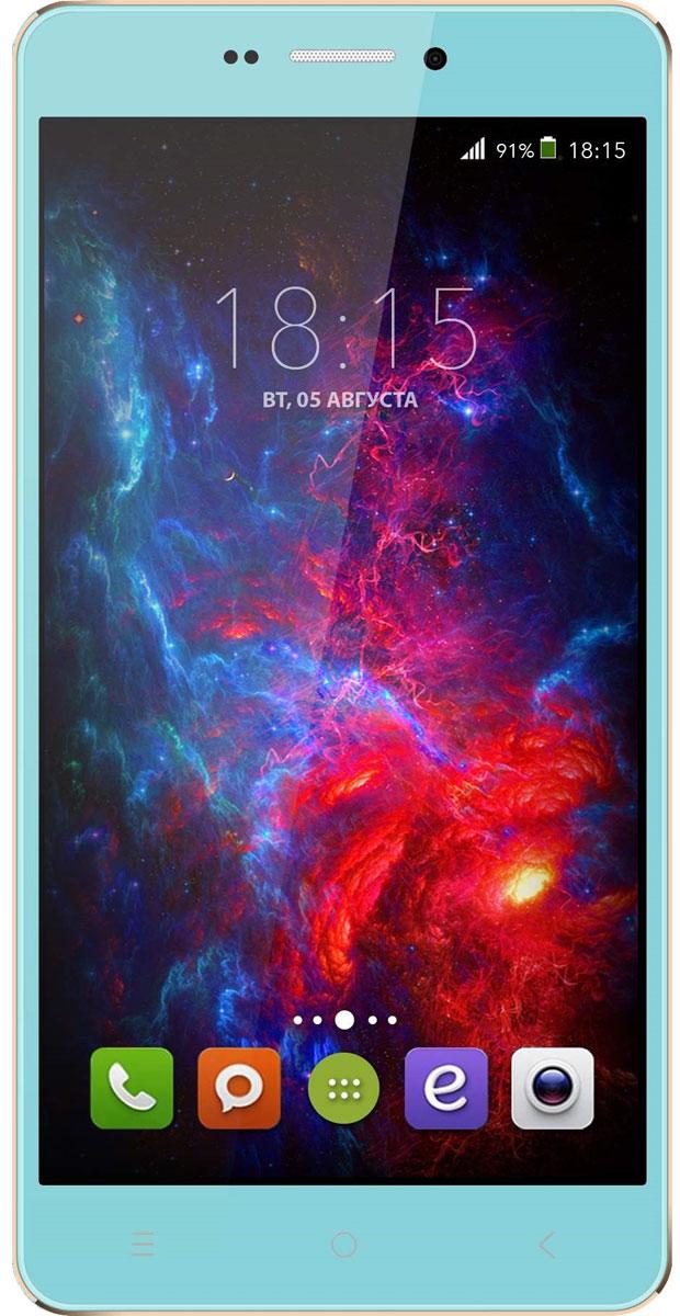 BQ 5515 Wide LTE, Tiffany Blue46610727BQ 5515 Wide LTE с 5,5 HD IPS дисплеем c разрешением 1280 на 720 точек совмещает в себе функции высокопроизводительного смартфона и планшета, поэтому станет незаменимым помощником не только в развлечениях, общении, серфинге, но и в учебе.Данная модель оснащена 4-х ядерным процессором MTK6735 LTE, который обладает широкими возможностями по работе с мультимедийными данными. Процессор разработан специально под современные тенденции в развитии виртуальной реальности с улучшенной графической составляющей, повышенной производительностью и оптимизированным энергопотреблением.BQS 5515 Wide работает под управлением современной версии ОС Android 5.1, обеспечивающей быстродействие всей системы. Поддержка смартфоном 4G LTE превратит использование мобильных приложений в бесконечное удовольствие. А чтобы его продлить, в устройство встроены современные функции по экономии энергопотребления в сочетании с ёмким аккумулятором 2800 мАч, которые обеспечивают длительную автономную работу.Камера 13 Мпикс поможет день за днём запечатлевать окружающий мир в качественных фотографиях с высоким разрешением. Благодаря наличию мощной вспышки аппарат создает яркие снимки в самых нестандартных условиях и записывает видео в формате HD.Смартфон сертифицирован EAC и имеет русифицированный интерфейс меню и Руководство пользователя.