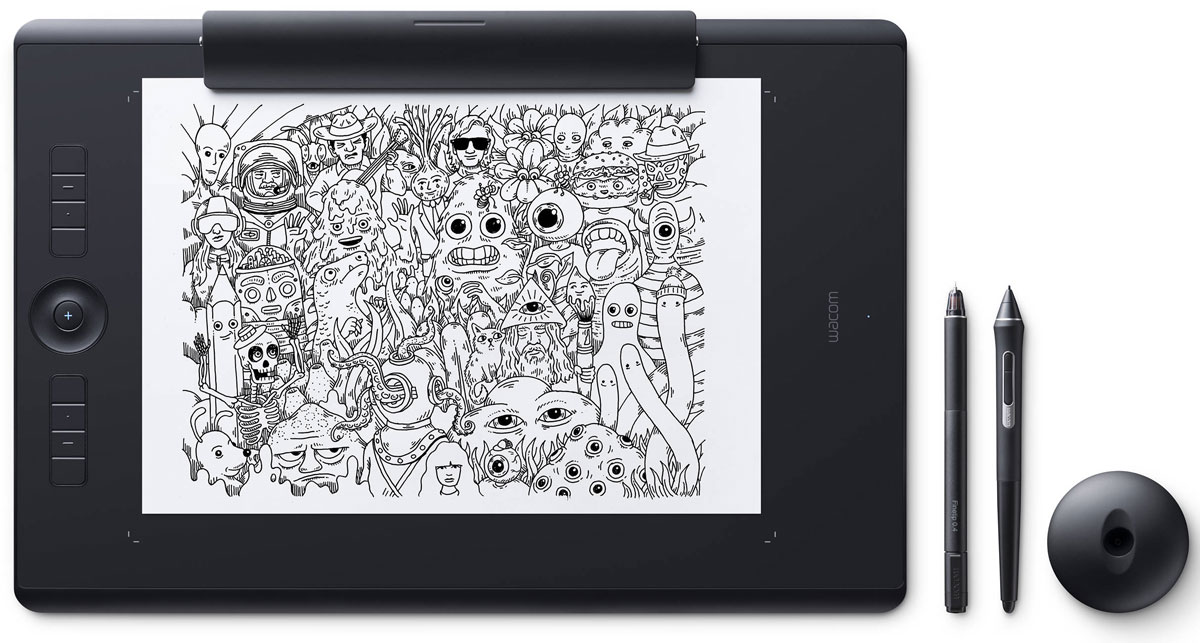 Wacom Intuos Pro Large Paper графический планшет (PTH-860P-R) - Графические планшеты