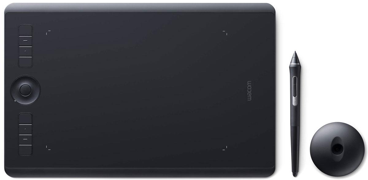 Wacom Intuos Pro Medium графический планшет (PTH-660-R)4949268620598Wacom Intuos Pro - это триумф современных технологий. Это новые ощущения и результаты работы с пером Wacom Pro Pen 2. Это утонченный дизайн и беспроводное (bluetooth) соединение с ПК. Это вспомогательные клавиши Express Keys и сенсорное кольцо Touch Ring. Создавайте новое с новым Intuos Pro!Подключите Wacom Intuos Pro к своему компьютеру Mac или PC с Windows, используя USB-кабель или технологию Bluetooth, установите драйверы - и можете приступать к работе в любом творческом приложении.Новое перо Wacom Pro Pen 2 незамедлительно превратится в ваш любимый инструмент для творчества. Оно обладает повышенной чувствительностью, точностью и быстротой реакции по сравнению со всеми выпущенными ранее моделями.Корпус Wacom Intuos Pro сделан из высококачественных первоклассных материалов: черного анодированного алюминия и стекловолокнистого композитного пластика. Несмотря на толщину всего 8 мм, планшет на ощупь надежный и прочный.В комплект всех Wacom Intuos Pro включена подставка для пера со стальным основанием, предназначенная для хранения запасных наконечников. А еще в нее встроен удобный инструмент для замены наконечников.Настраиваемые клавиши ExpressKeys и сенсорное кольцо Touch Ring обеспечивают быстрый доступ к повседневным задачам.Благодаря боковым кнопкам Wacom Pro Pen 2 нужные команды и элементы управления всегда у вас под рукой.Жесты multi-touch делают навигацию по рабочим материалам очень простой - как на смартфоне.