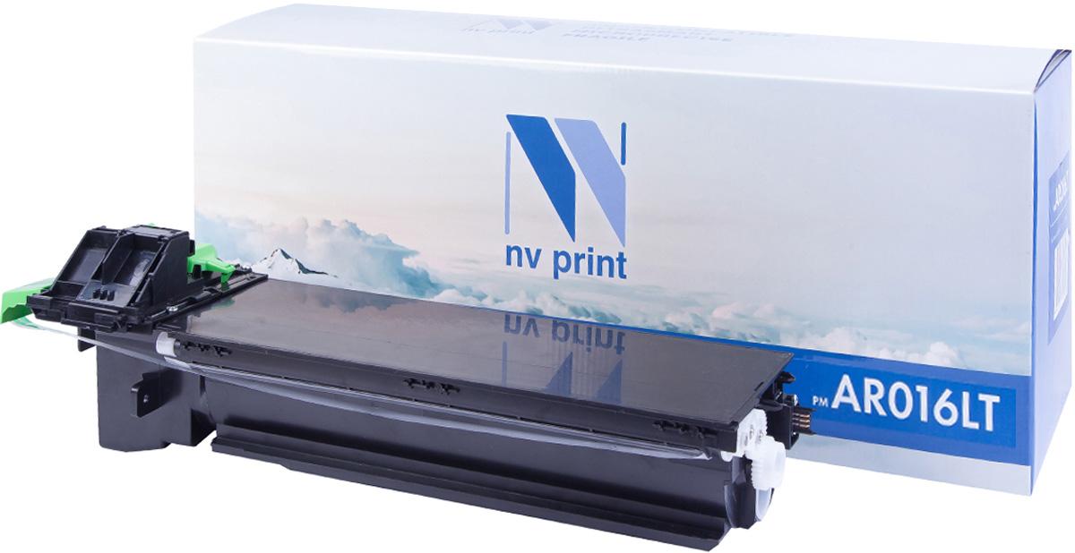NV Print AR016LT, Black тонер-картридж для Sharp AR 5016/5120/5316/5320NV-AR016LTСовместимый лазерный картридж NV Print AR016LT для печатающих устройств Sharp AR - это альтернатива приобретению оригинальных расходных материалов. При этом качество печати остается высоким. Картридж обеспечивает повышенную чёткость чёрного текста и плавность переходов оттенков серого цвета и полутонов, позволяет отображать мельчайшие детали изображения.Лазерные принтеры, копировальные аппараты и МФУ являются более выгодными в печати, чем струйные устройства, так как лазерных картриджей хватает на значительно большее количество отпечатков, чем обычных. Для печати в данном случае используются не чернила, а тонер.