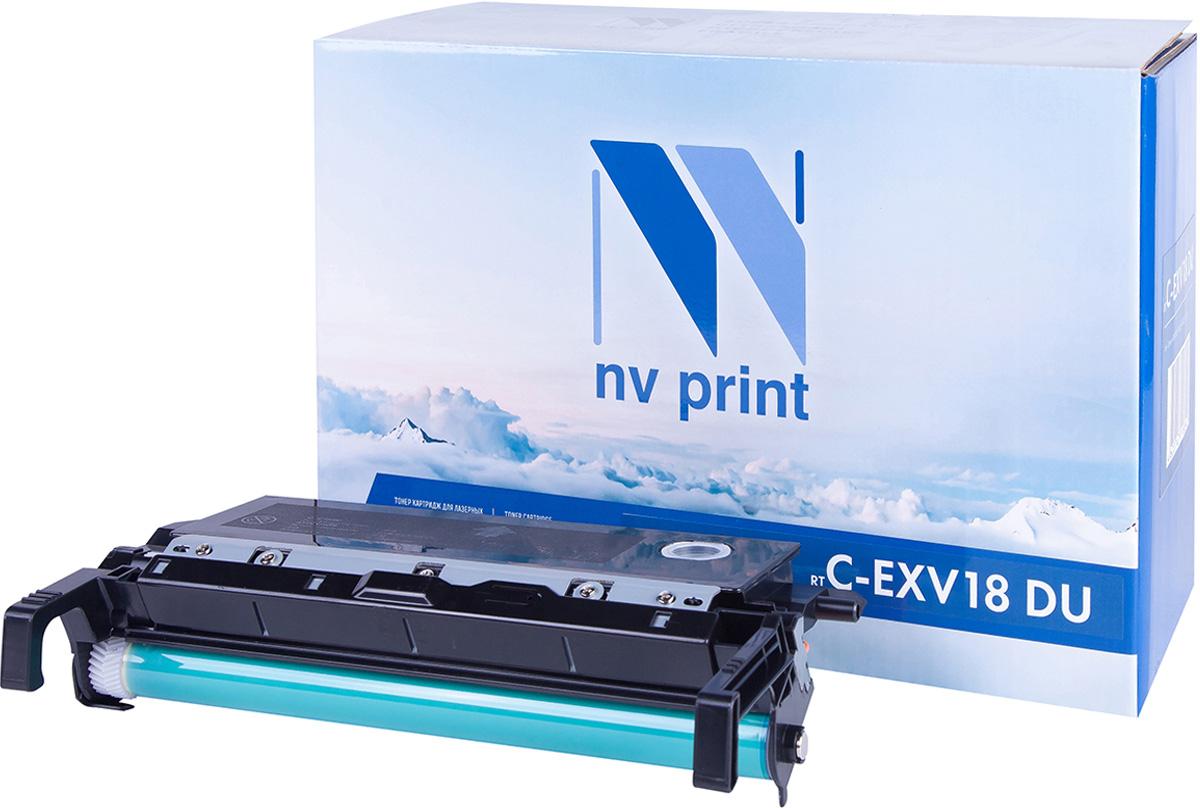 NV Print CEXV18, Black тонер-туба для Canon IR1018/1022 картридж для принтера nv print для hp cf403x magenta