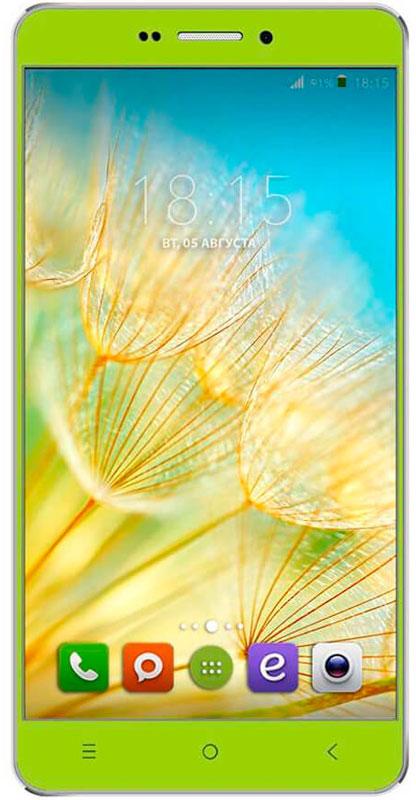 BQ 5515 Wide LTE, Green46611956BQ 5515 Wide LTE с 5,5 HD IPS дисплеем c разрешением 1280 на 720 точек совмещает в себе функции высокопроизводительного смартфона и планшета, поэтому станет незаменимым помощником не только в развлечениях, общении, серфинге, но и в учебе.Данная модель оснащена 4-х ядерным процессором MediaTek MT6735 LTE, который обладает широкими возможностями по работе с мультимедийными данными. Процессор разработан специально под современные тенденции в развитии виртуальной реальности с улучшенной графической составляющей, повышенной производительностью и оптимизированным энергопотреблением.BQS 5515 Wide работает под управлением современной версии ОС Android 5.1, обеспечивающей быстродействие всей системы. Поддержка смартфоном 4G LTE превратит использование мобильных приложений в бесконечное удовольствие. А чтобы его продлить, в устройство встроены современные функции по экономии энергопотребления в сочетании с ёмким аккумулятором 2800 мАч, которые обеспечивают длительную автономную работу.Камера 13 Мпикс поможет день за днём запечатлевать окружающий мир в качественных фотографиях с высоким разрешением. Благодаря наличию мощной вспышки аппарат создает яркие снимки в самых нестандартных условиях и записывает видео в формате HD.Смартфон сертифицирован EAC и имеет русифицированный интерфейс меню и Руководство пользователя.