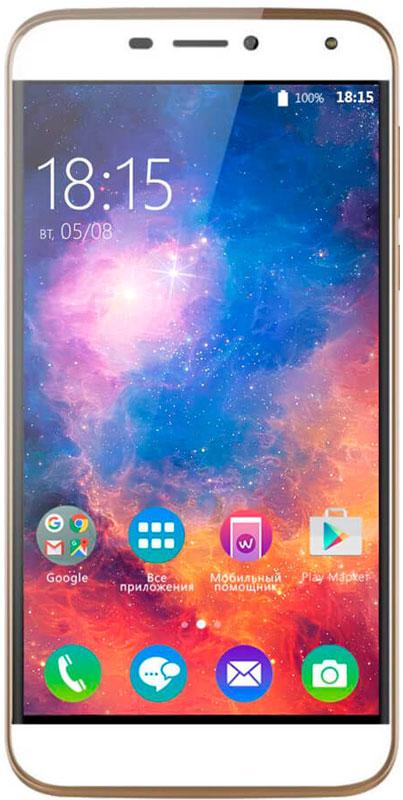 BQ 5520 Mercury LTE, Gold46611168BQ представляет новый смартфон Mercury. Устройство с идеальным балансом между современными технологиями и роскошным исполнением.Батарея емкостью 3650 мАч - это долгие часы работы без подзарядки, а значит, полная свобода в передвижении и общении. За сохранность личных данных отвечает передовая технология Fingerprint или сканер отпечатков пальцев. Забудьте о кодах блокировки, теперь для доступа в смартфон понадобиться только рисунок на вашем пальце.BQ Mercury оснащен 5,5-дюймовым дисплеем с высоким разрешением. Благодаря технологии HD IPS цвета приобретают невероятную реалистичность и яркость отображения. Закаленное стекло с эффектом 2.5D дает дополнительную прочность смартфону, создавая ощущение объемности.В арсенале BQ Mercury две камеры с разрешением 8 и 13 Мпикс. Каждая из них способна сделать снимок хорошего качества вне зависимости от того, делаете вы портрет, селфи или панорамную съемку.Аппаратная начинка модели представлена четырехъядерным процессором MediaTek MT6737 с тактовой частотой 1,3 ГГц и 2 ГБ оперативной памяти, что обеспечивает бесперебойное функционирование смартфона при работе с требовательными приложениями или играми.Смартфон работает под управлением ОС Android 6.0 и поддерживает модули беспроводной связи 4G LTE, Wi-Fi 802.11 a/b/g/n, Bluetooth 4.1 и GPS.Смартфон сертифицирован EAC и имеет русифицированный интерфейс меню и Руководство пользователя.