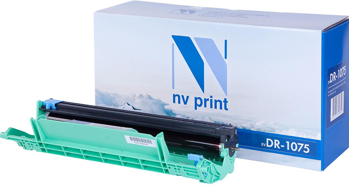 NV Print DR1075, Black фотобарабан для Brother DCP-1510R/DCP-1512R/HL-1110R/HL-1112R/MFC-18NV-DR1075Совместимый лазерный картридж NV Print DR1075 для печатающих устройств Brother - это альтернатива приобретению оригинальных расходных материалов. При этом качество печати остается высоким. Картридж обеспечивает повышенную чёткость чёрного текста и плавность переходов оттенков серого цвета и полутонов, позволяет отображать мельчайшие детали изображения.Лазерные принтеры, копировальные аппараты и МФУ являются более выгодными в печати, чем струйные устройства, так как лазерных картриджей хватает на значительно большее количество отпечатков, чем обычных. Для печати в данном случае используются не чернила, а тонер.