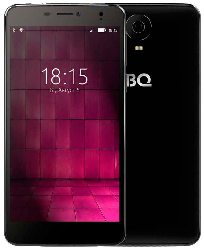 BQ 6050 Jumbo LTE, Black46612696Большой и мощный - таким BQ Mobile задумали смартфон BQ-6050 Jumbo, современный мультимедийный центр, помещающийся в кармане. Этот фаблет работает под управлением надежной операционной системы Android 6.0. Будь готов: он создан для тех, кто привык получать все и сразу!Перед тобой 6-дюймовый IPS-экран с отличной цветопередачей и HD-разрешением 1280х720. Но для максималистов этого недостаточно. Поэтому дисплей смартфона выполнен по технологии Full lamination,а значит, лишен воздушной прослойки между ЖК-панелью и защитным стеклом, что максимально приближает изображение к поверхности устройства. Нажми на кнопку – получишь результат! И не просто фотографию, а снимок отличного качества. Все благодаря основной камере с разрешением 16-мегапикселей, оснащенной автофокусом и вспышкой. Для селфи и видеозвонков воспользуйся фронтальной 8-мегапиксельной оптикой.Двухчасовой фильм, видеоконференция или любимая игра? Решай любые задачи, забыв о зарядке, ведь под крышкой Jumbo Li-polymer аккумулятор энергоемкостью 4900 мАч. С такой батареей можно смело отправляться в путешествие прямо сейчас. Ноутбук можно оставить дома, клавиатуру и флешку подключаешь прямо к смартфону, он поддерживает современную технологию OTG, с помощью которой можно синхронизировать девайс практически с любым устройством.С Jumbo ты всегда остаешься на гребне волны, благодаря поддержке смартфоном 4G-сетей, 2 ГБ оперативной памяти и четырехъядерному процессору MediaTek MT6737. Встроенные 16 ГБ памяти легко увеличить до 128, если воспользоваться microSD картой.Смартфон сертифицирован EAC и имеет русифицированный интерфейс меню и Руководство пользователя.