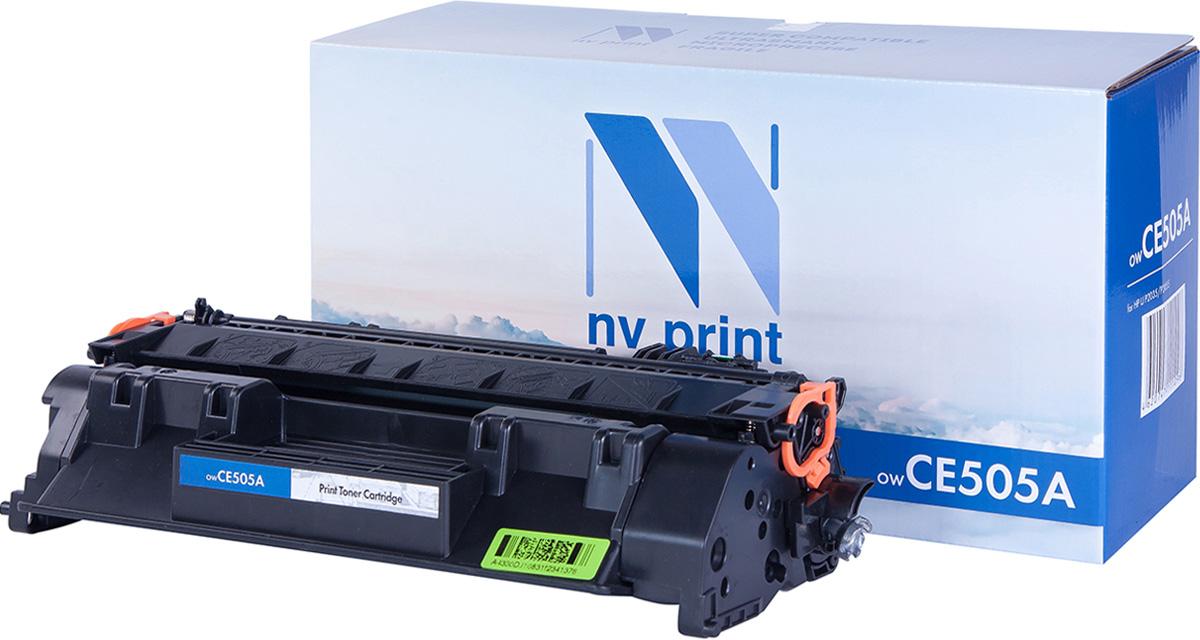 NV Print NV-CE505A, Black тонер-картридж для HP LaserJet P2035/P2055NV-CE505AСовместимый лазерный картридж NV Print CE505A для печатающих устройств HP - это альтернатива приобретению оригинальных расходных материалов. При этом качество печати остается высоким. Картридж обеспечивает повышенную чёткость чёрного текста и плавность переходов оттенков серого цвета и полутонов, позволяет отображать мельчайшие детали изображения.Лазерные принтеры, копировальные аппараты и МФУ являются более выгодными в печати, чем струйные устройства, так как лазерных картриджей хватает на значительно большее количество отпечатков, чем обычных. Для печати в данном случае используются не чернила, а тонер.