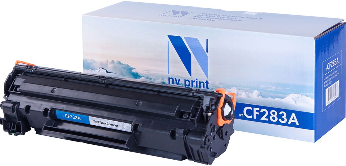 NV Print NV-CF283A, Black тонер-картридж для HP LaserJet Pro MFP M125nw/M127fw