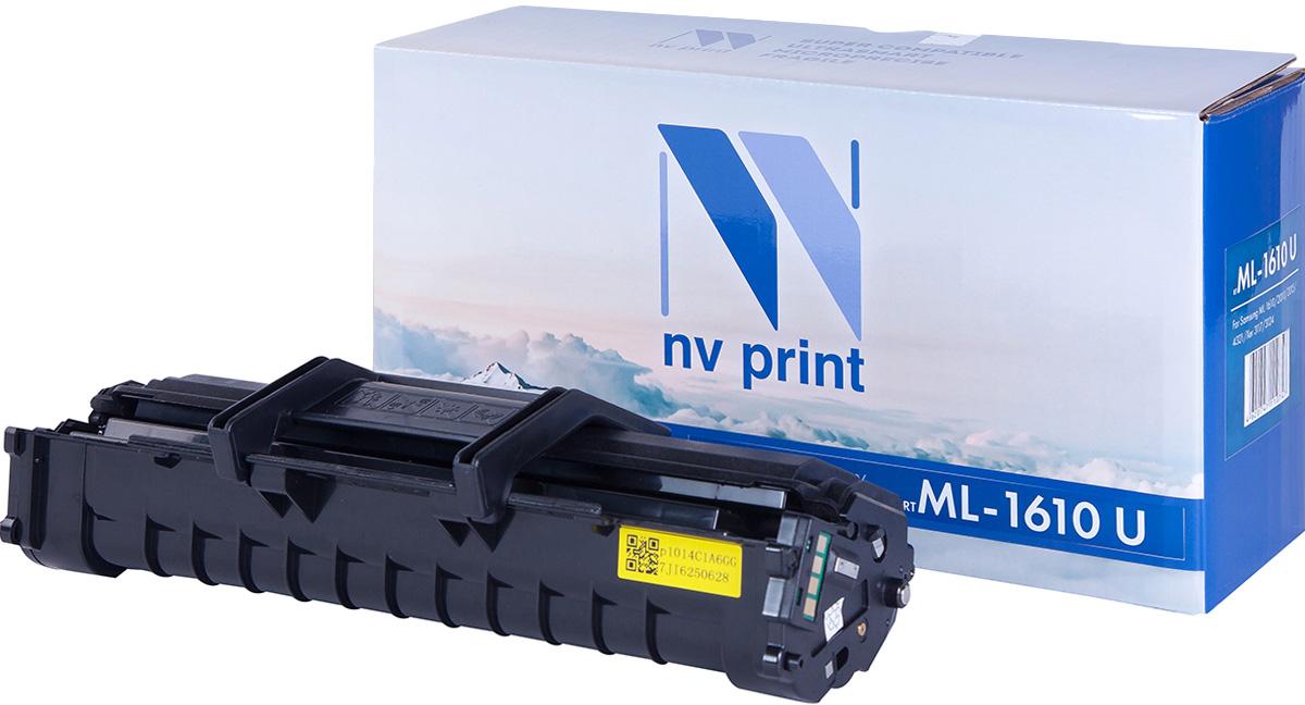 NV Print NV-ML1610UNIV, Black тонер-картридж для Samsung ML-1610/1615/2010/2015/ML-2510 /2570/2571N/SCX-4321/4321F/4521/Xerox Phaser 3117/3122/3124/3125/Dell 1100NV-ML1610UNIVСовместимый лазерный картридж NV Print NV-ML1610UNIV для печатающих устройств Samsung, Xerox и Dell - это альтернатива приобретению оригинальных расходных материалов. При этом качество печати остается высоким. Картридж обеспечивает повышенную чёткость чёрного текста и плавность переходов оттенков серого цвета и полутонов, позволяет отображать мельчайшие детали изображения.Лазерные принтеры, копировальные аппараты и МФУ являются более выгодными в печати, чем струйные устройства, так как лазерных картриджей хватает на значительно большее количество отпечатков, чем обычных. Для печати в данном случае используются не чернила, а тонер.
