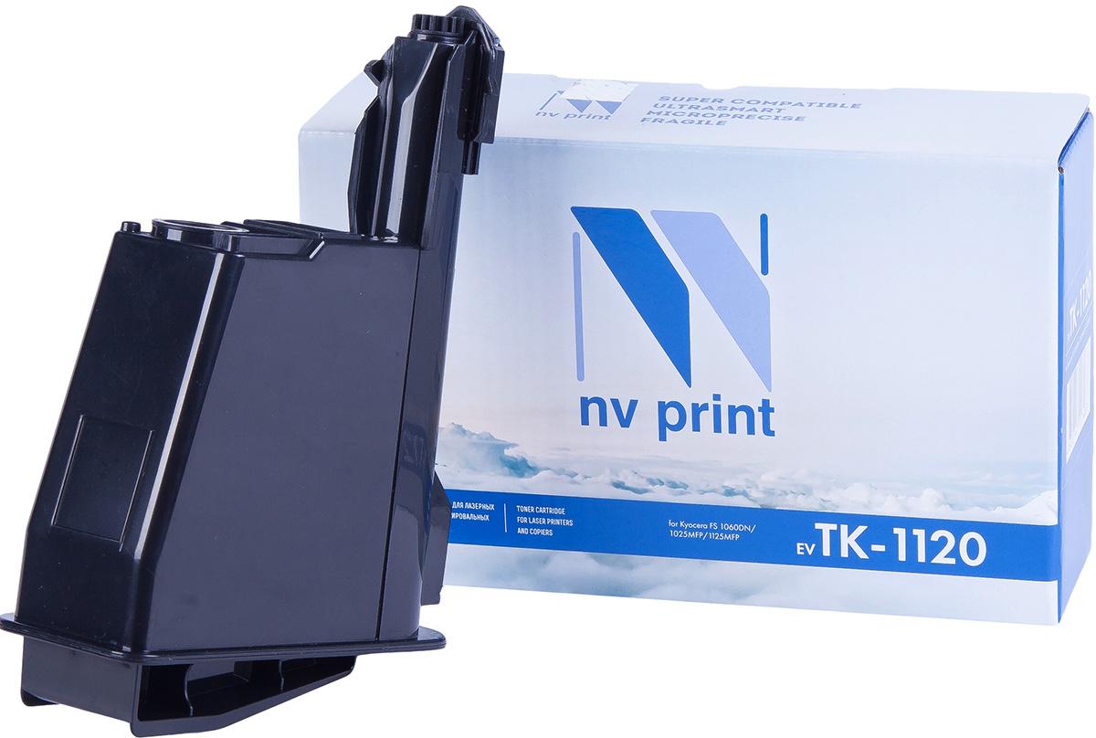 NV Print NV-TK1120, Black тонер-картридж для Kyocera FS-1060DN/1025MFP/1125MFPNV-TK1120Совместимый лазерный картридж NV Print NV-TK1120 для печатающих устройств Kyocera - это альтернатива приобретению оригинальных расходных материалов. При этом качество печати остается высоким. Картридж обеспечивает повышенную чёткость чёрного текста и плавность переходов оттенков серого цвета и полутонов, позволяет отображать мельчайшие детали изображения.Лазерные принтеры, копировальные аппараты и МФУ являются более выгодными в печати, чем струйные устройства, так как лазерных картриджей хватает на значительно большее количество отпечатков, чем обычных. Для печати в данном случае используются не чернила, а тонер.