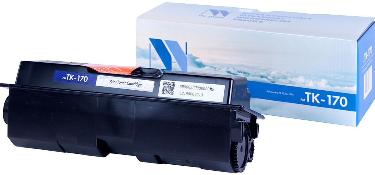 NV Print NV-TK170, Black тонер-картридж для Kyocera FS-1320/1320N/1320DN/1370/1370N/1370DN/P2135d/P2135dnNV-TK170Совместимый лазерный картридж NV Print NV-TK170 для печатающих устройств Kyocera - это альтернатива приобретению оригинальных расходных материалов. При этом качество печати остается высоким. Картридж обеспечивает повышенную чёткость чёрного текста и плавность переходов оттенков серого цвета и полутонов, позволяет отображать мельчайшие детали изображения.Лазерные принтеры, копировальные аппараты и МФУ являются более выгодными в печати, чем струйные устройства, так как лазерных картриджей хватает на значительно большее количество отпечатков, чем обычных. Для печати в данном случае используются не чернила, а тонер.