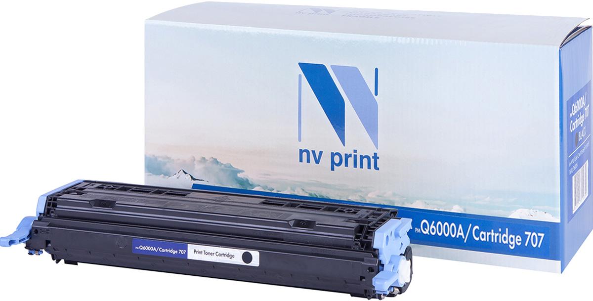NV Print Q6000A/CAN707Bk, Black тонер-картридж для HP Color LaserJet CM1015MFP/CM1017MFP1600/2600N/2605/2605DN/DTN/Canon LBP 5000NV-Q6000A/CAN707BkСовместимый лазерный картридж NV Print Q6000A/CAN707Bk для печатающих устройств HP и Canon - это альтернатива приобретению оригинальных расходных материалов. При этом качество печати остается высоким. Картридж обеспечивает повышенную чёткость чёрного текста и плавность переходов оттенков серого цвета и полутонов, позволяет отображать мельчайшие детали изображения.Лазерные принтеры, копировальные аппараты и МФУ являются более выгодными в печати, чем струйные устройства, так как лазерных картриджей хватает на значительно большее количество отпечатков, чем обычных. Для печати в данном случае используются не чернила, а тонер.