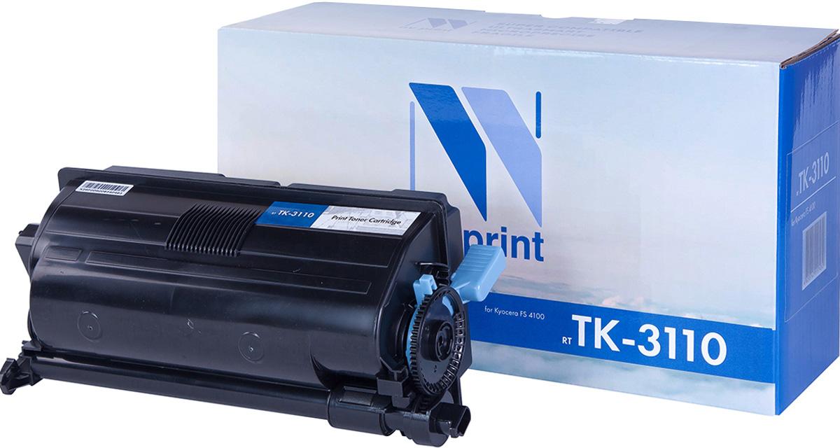 NV Print TK3110, Black тонер-картридж для Kyocera FS-4100DNNV-TK3110Совместимый лазерный картридж NV Print TK3110 для печатающих устройств Kyocera - это альтернатива приобретению оригинальных расходных материалов. При этом качество печати остается высоким. Картридж обеспечивает повышенную чёткость чёрного текста и плавность переходов оттенков серого цвета и полутонов, позволяет отображать мельчайшие детали изображения.Лазерные принтеры, копировальные аппараты и МФУ являются более выгодными в печати, чем струйные устройства, так как лазерных картриджей хватает на значительно большее количество отпечатков, чем обычных. Для печати в данном случае используются не чернила, а тонер.