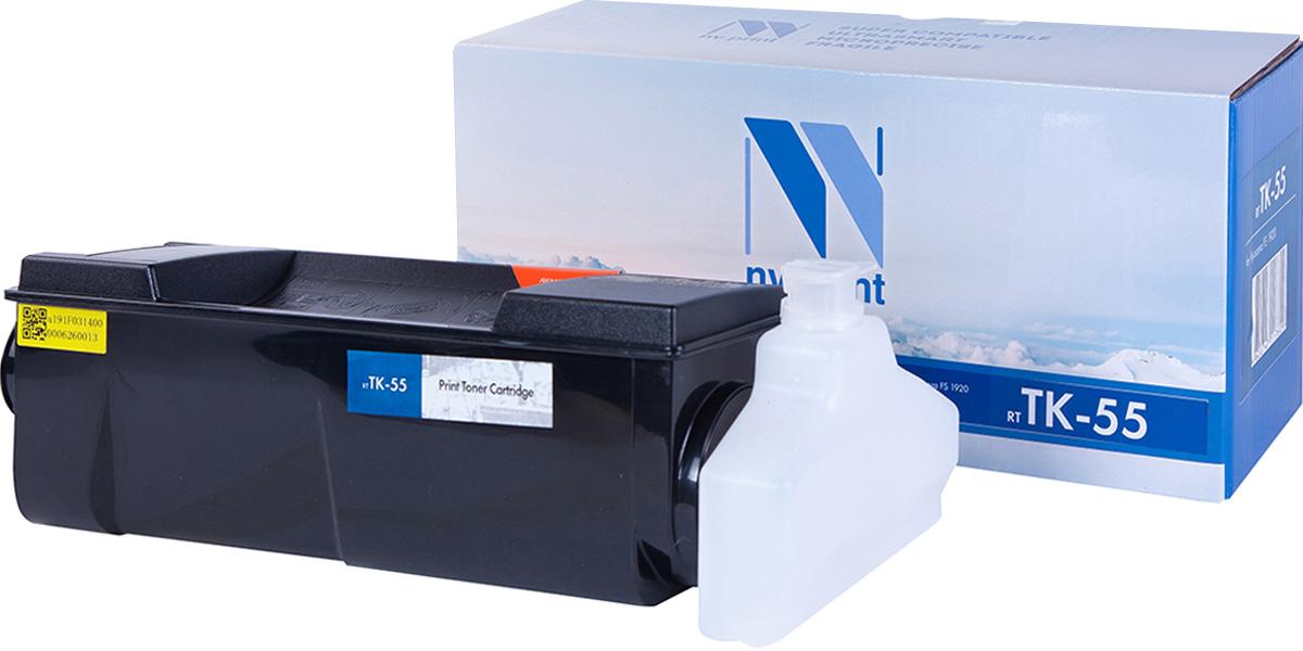 NV Print TK55, Black тонер-картридж для Kyocera FS-1920NV-TK55Совместимый лазерный картридж NV Print TK55 для печатающих устройств Kyocera - это альтернатива приобретению оригинальных расходных материалов. При этом качество печати остается высоким. Картридж обеспечивает повышенную чёткость чёрного текста и плавность переходов оттенков серого цвета и полутонов, позволяет отображать мельчайшие детали изображения.Лазерные принтеры, копировальные аппараты и МФУ являются более выгодными в печати, чем струйные устройства, так как лазерных картриджей хватает на значительно большее количество отпечатков, чем обычных. Для печати в данном случае используются не чернила, а тонер.