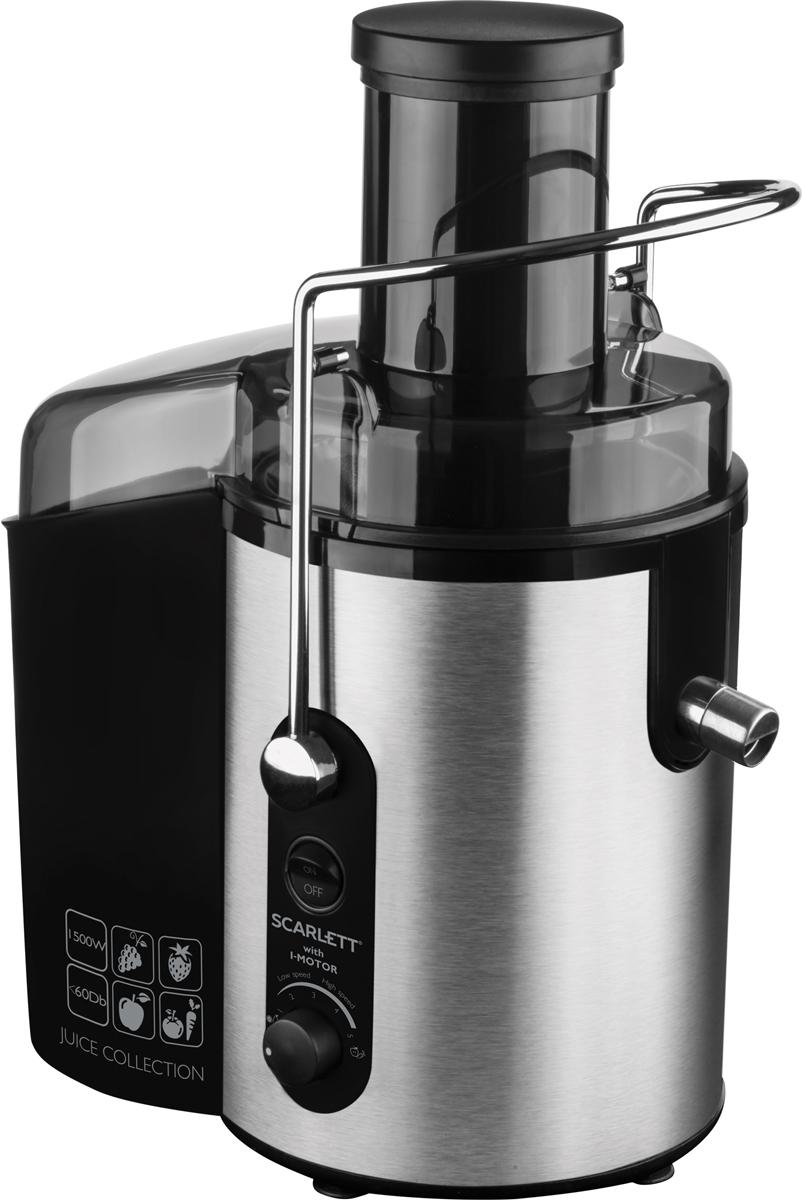 Scarlett SL-JE51S01 соковыжималкаSL-JE51S01Титановое покрытие Durable Titanium сетчатого фильтра для сока гарантирует длительный срок службы прибора, а также способствует сохранению витаминов и ферментов в соке благодаря химической нейтральности к натуральным кислотам.
