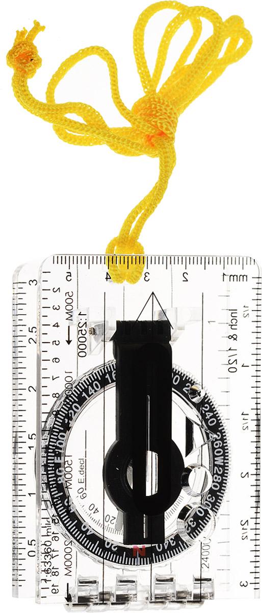 Компас планшетный Sol, с визиром. SLA-001SLA-001Компас планшетный Sol - это компактный карманный прибор для ориентирования на местности. Корпус выполнен из качественного прочного прозрачного пластика, на нем практически не остаются царапины. Прибор выполнен в виде линейки со шкалами различных масштабов и снабжен компасом с диаметром лимба в 40 мм. В верхней части приспособления имеется отверстие для нашейного шнурка. Прибор удобно носить на шее, так как он легкий и оборудован нашейной веревкой. Идеальный вариант для туристов и путешественников.
