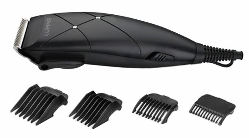 Lumme LU-2508, Black Pearl машинка для стрижкиLU-250815-ваттная машинка для стрижки волос Lumme LU-2508 предназначена для создания превосходной стрижки в домашних условиях. Режущие лезвия из высококачественной нержавеющей стали надолго останутся острыми, а эргономичный корпус машинки обеспечит максимальное удобство при ее использовании.