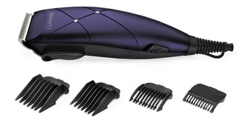 Lumme LU-2508, Dark Topaz машинка для стрижкиLU-250815-ваттная машинка для стрижки волос Lumme LU-2508 предназначена для создания превосходной стрижки в домашних условиях. Режущие лезвия из высококачественной нержавеющей стали надолго останутся острыми, а эргономичный корпус машинки обеспечит максимальное удобство при ее использовании.