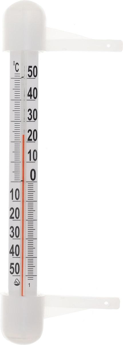 Термометр оконный Стеклоприбор, полистирольная шкала. ТБ-3М1 исп.14300169Термометр бытовой оконныйПрименяется для измерения температуры воздуха окружающей средыДиапазон измерения температуры: -50...+50°СЦена деления шкалы: 1°СМатериал: пластик